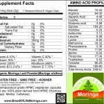 100% Organic Moringa in Vegetable Capsules - Auto-Ship (Includes Shipping)