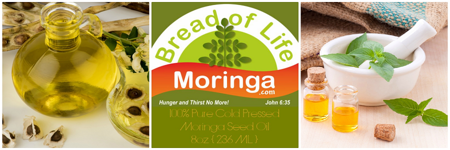 Bread of Life Moringa Cold Pressed Moringa Seed Oil