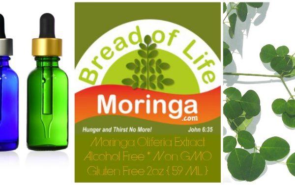 Bread of Life Moringa Leaf Liquid Extract
