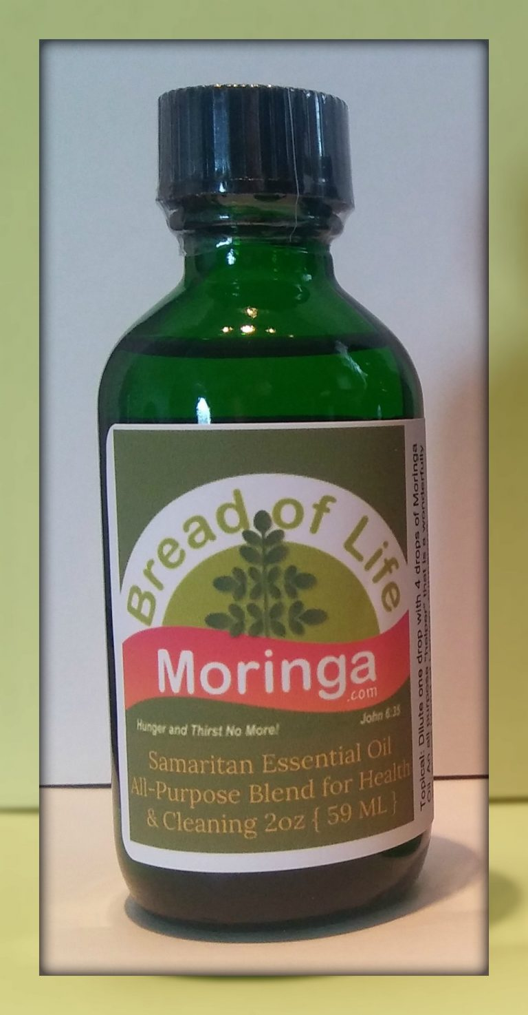 Bread of Life Moringa Samaritan Thieves Essential Oil Pic